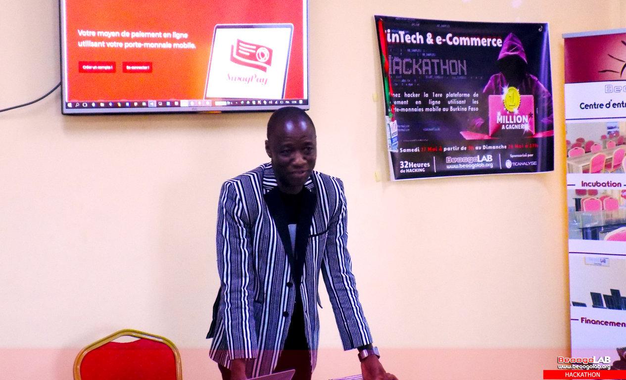 Discours du parrain Younoussa Sanfo, au pré-lancement de SwagPay.