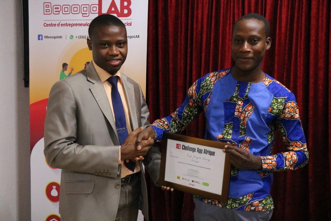 SAAGGA,projet incubé à BeoogoLAB remporte un prix panafricain