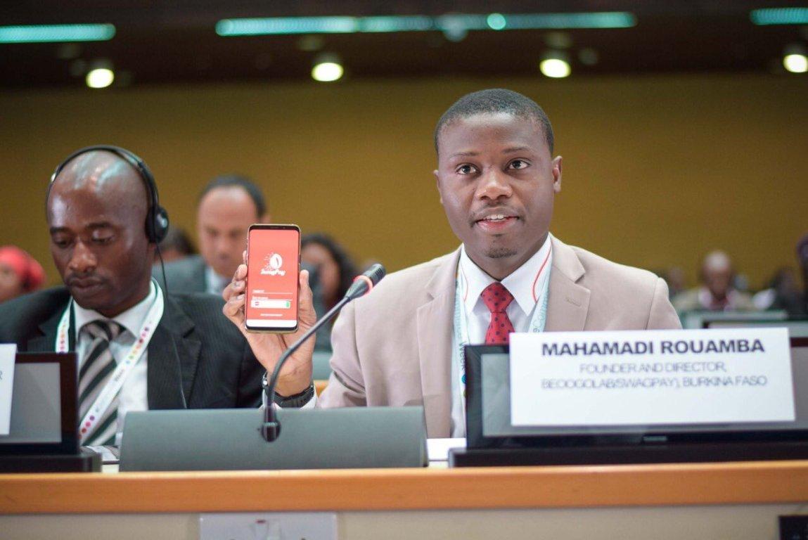 Mahamadi Rouamba partage son expérience avec l'OMC et les Nations Unies